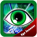 Eye Scanner Screen lock icon