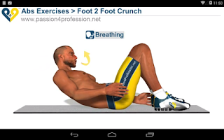 Screenshot of 8 Minutes Abs Workout