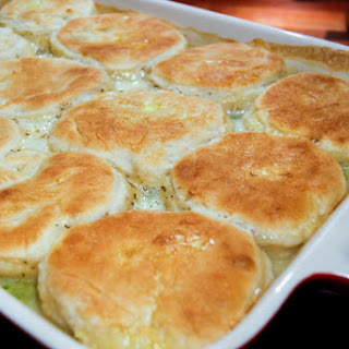 Homemade Chicken & Biscuits Recipe