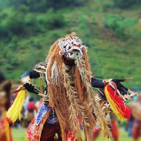 Barongan by Akhmat Haridi - People Fashion ( wonosobo, tari, barongan )