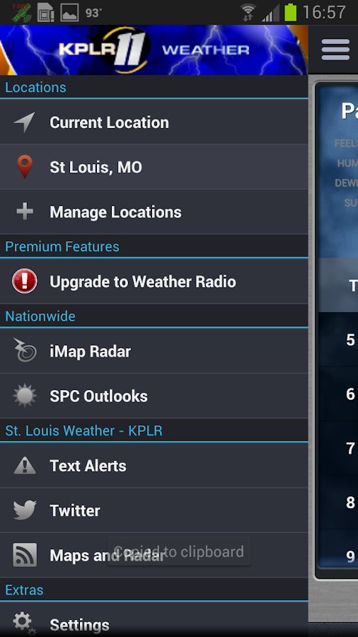 St. Louis Weather - KPLR - screenshot