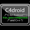 C4droid (C/C++ compiler) logo
