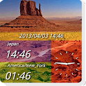 DUAL DIGIT WORLD CLOCK CL icon