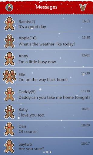 GO短信圣诞麋鹿主题