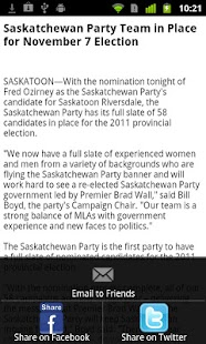 SaskParty - screenshot thumbnail