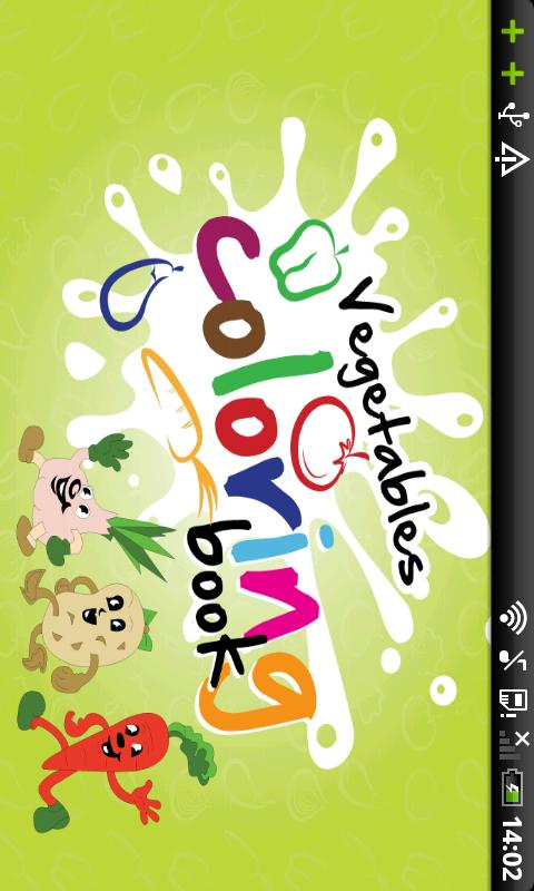 Vegetables Coloring Book - screenshot