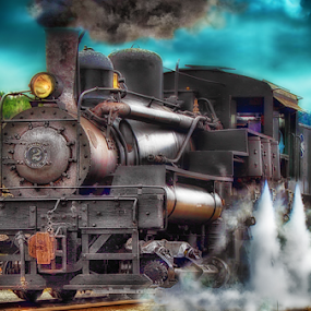 Up Close by Nickel Plate Photographics - Transportation Trains