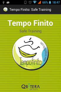 Tempo Finito: safe training: miniatura de captura de pantalla