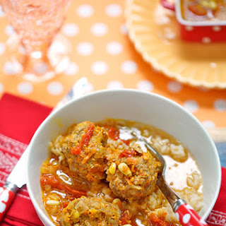 Veal and Pork Meatballs with a Carrot Sauce