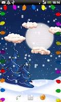 Screenshot of White Christmas Live Wall Lite