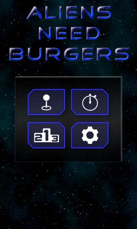 Aliens Need Burgers- screenshot