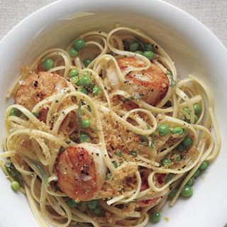 Linguine With Scallops and Brown Butter