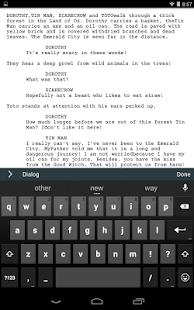 Celtx Script - screenshot thumbnail