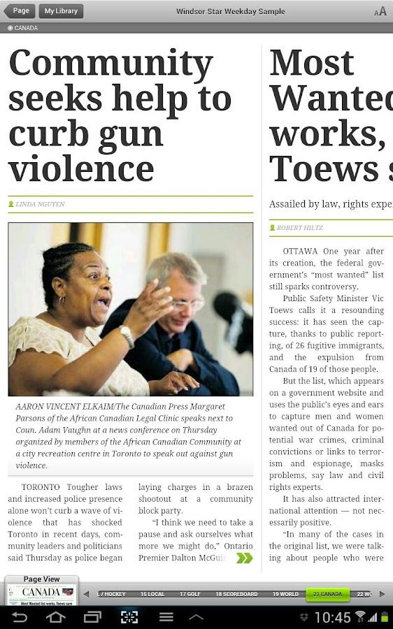Windsor Star ePaper- screenshot