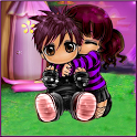 Cute Couple Love Locker icon