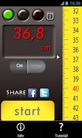 Screenshot of Slide Meter: Measure the world