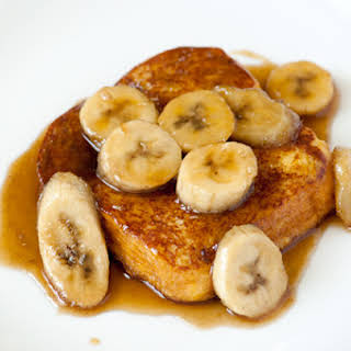 Breakfast Banana On Toast Recipes.