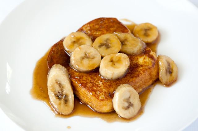 Bananas Foster French Toast Recipe