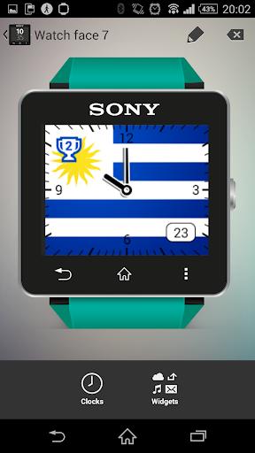Watchface Uruguay Sony SW2