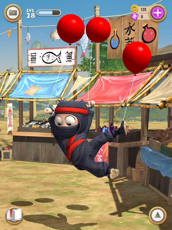 Clumsy Ninja - screenshot