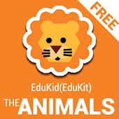EduKid - The ANIMALS FREE