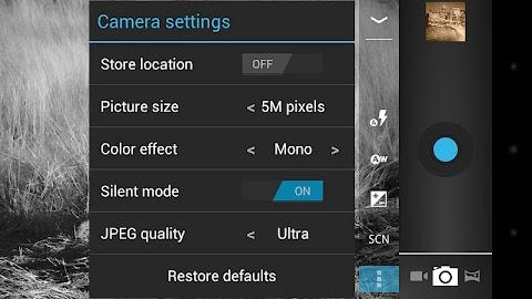 Camera ICS Screenshot 3