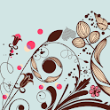 Ornate Flowers Live Wallpaper icon