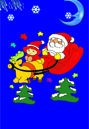 Coloring Christmas - Kids game 1.5 screenshot 513285