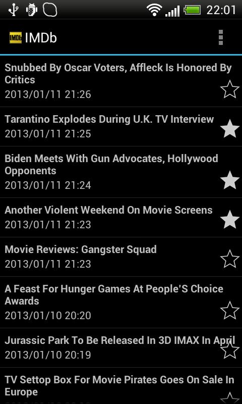 RSS Reader - screenshot