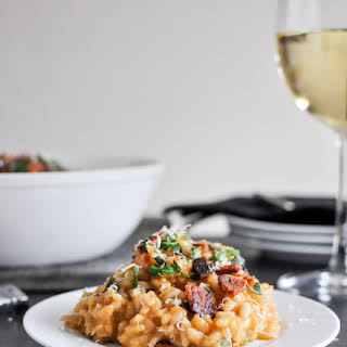 Roasted Sweet Potato Risotto.