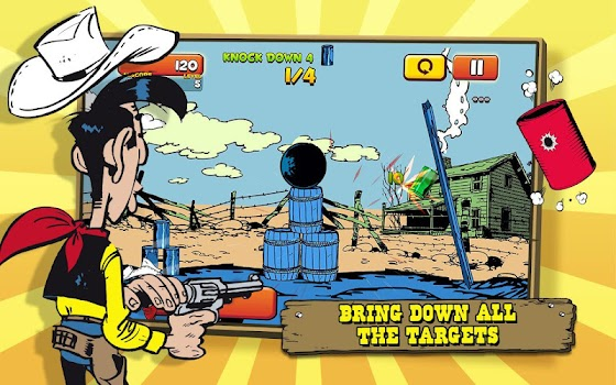 Lucky Luke Shoot and Hit