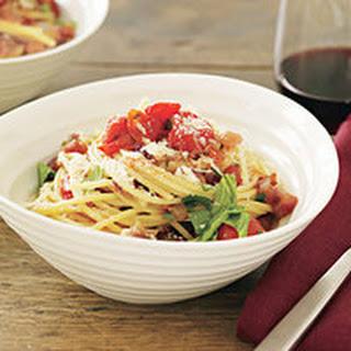 Cherry Tomato Spaghetti all'Amatriciana