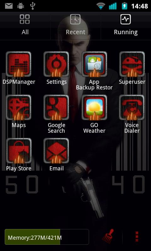 Hitman Go Launcher Ex Theme - screenshot