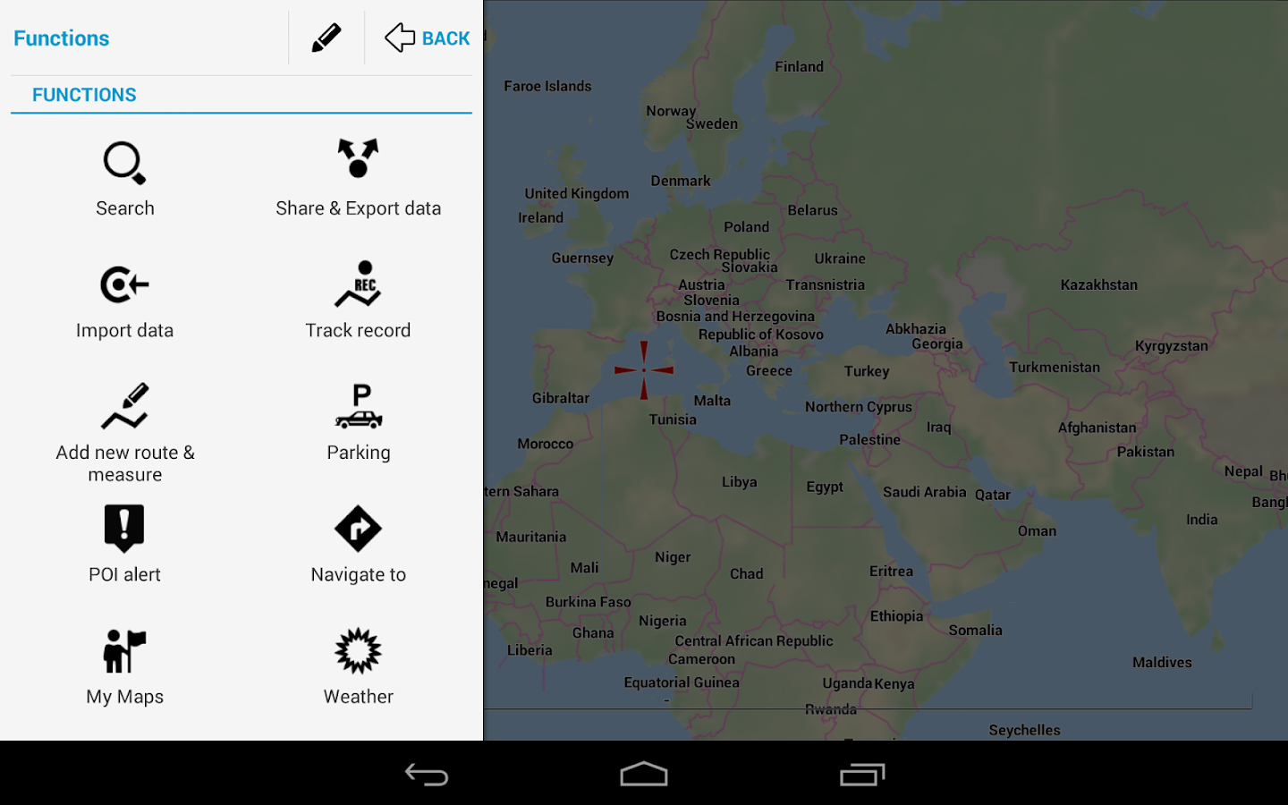 Locus Map Free - Outdoor GPS - screenshot