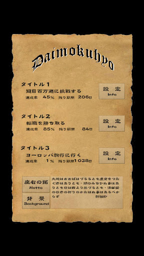 玩免費生活APP|下載Daimokuhyo_pro2 app不用錢|硬是要APP