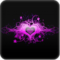 3D Love wallpaper logo