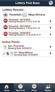 Lottery Pool Boss- screenshot thumbnail