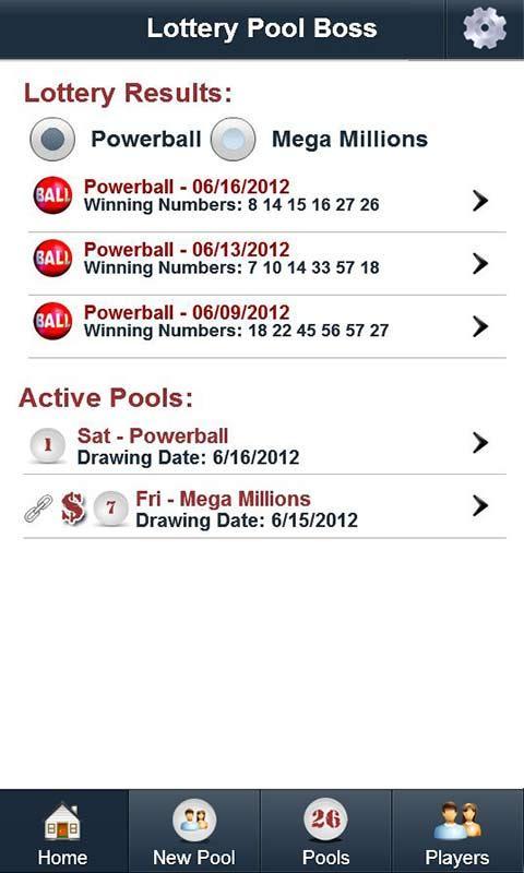 Lottery Pool Boss- screenshot