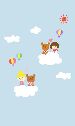 CUKI Theme Sky Park wallpaper