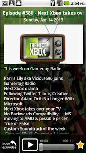 Gamertag Radio App - screenshot thumbnail