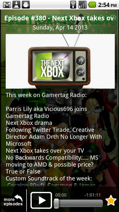 Gamertag Radio App - screenshot