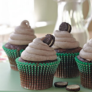 Cookies and Cream Cupcakes.