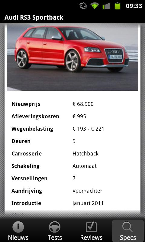 AutoWeek - screenshot