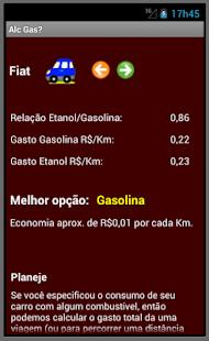 Álcool (Etanol) ou gasolina? - screenshot thumbnail