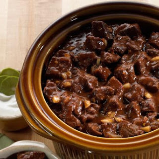 Crock Pot Beef and Beer Chili