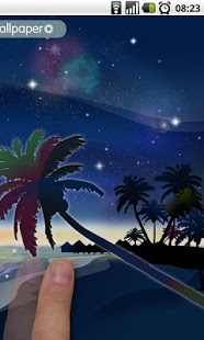 Galaxy Beach Wallpaper FREE- screenshot thumbnail