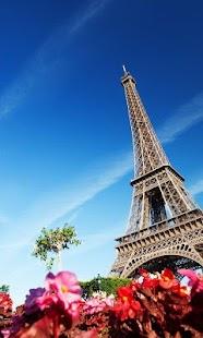 Paris Live Wallpaper screenshot