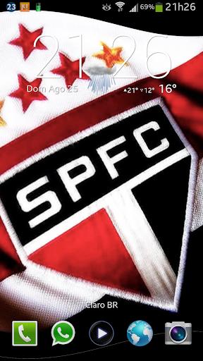 Bandeira São Paulo 3D LiveWP
