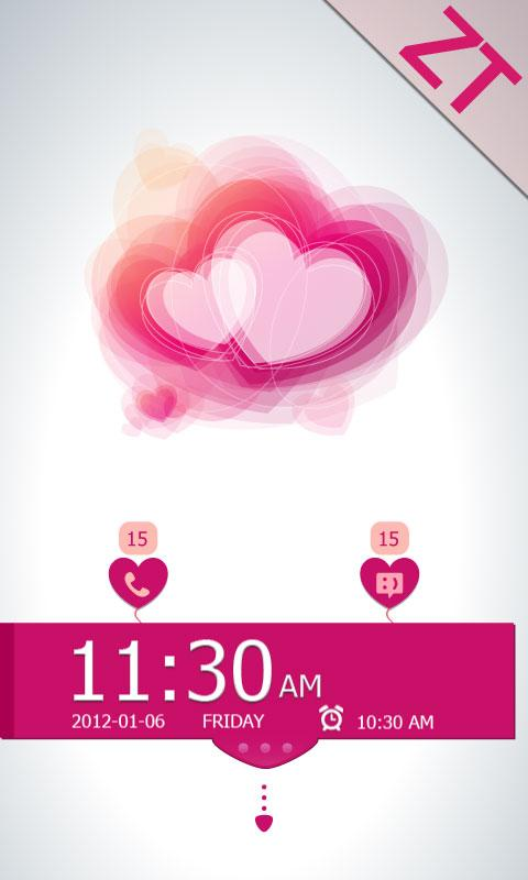 Lovelight Theme GO Locker - screenshot