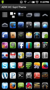 ADW Theme: Honeycomb Sqrd - screenshot thumbnail